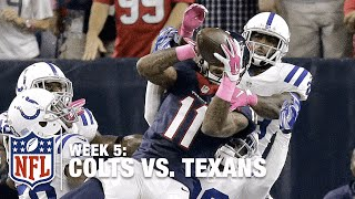 Incredible Hail Mary TD Catch by Texans Rookie WR Jaelen Strong | Colts vs. Texans | NFL