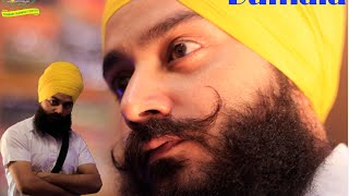 Repeat youtube video HOW  to tie DUMALA Whole detail Sat kartar turban training center punjab patiala 09988001021