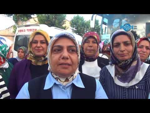 AK Parti İl Kadın Kolları 5 Otobüsle Kongreye Katıldı