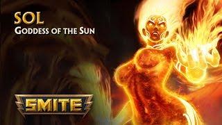 SMITE - God Reveal - Sol, Goddess of the Sun