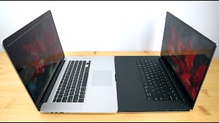 Dell XPS 15 Infinity vs.  Retina MacBook Pro 15 mid 2015 Comparison Smackdown