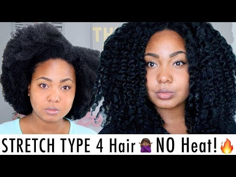 HOW I STRETCH MY TYPE 4 Natural Hair | NO HEAT + RETAIN LENGTH