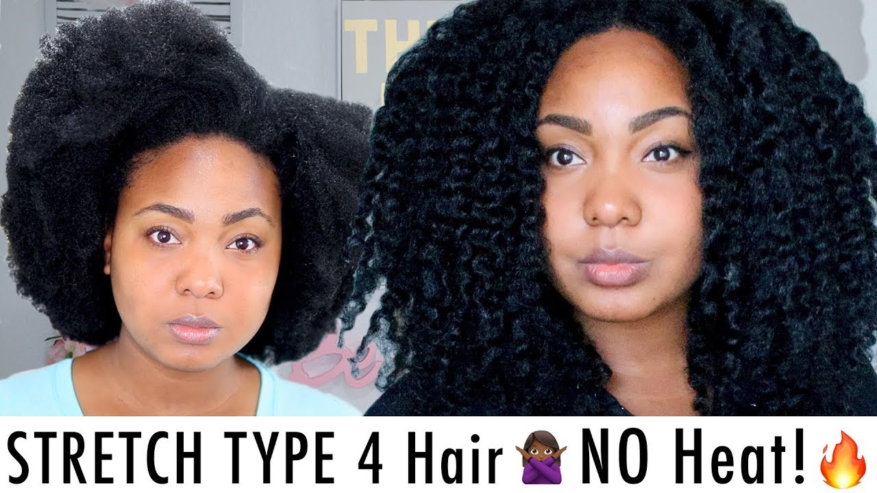 How I Stretch My Type 4 Natural Hair No Heat Retain Length