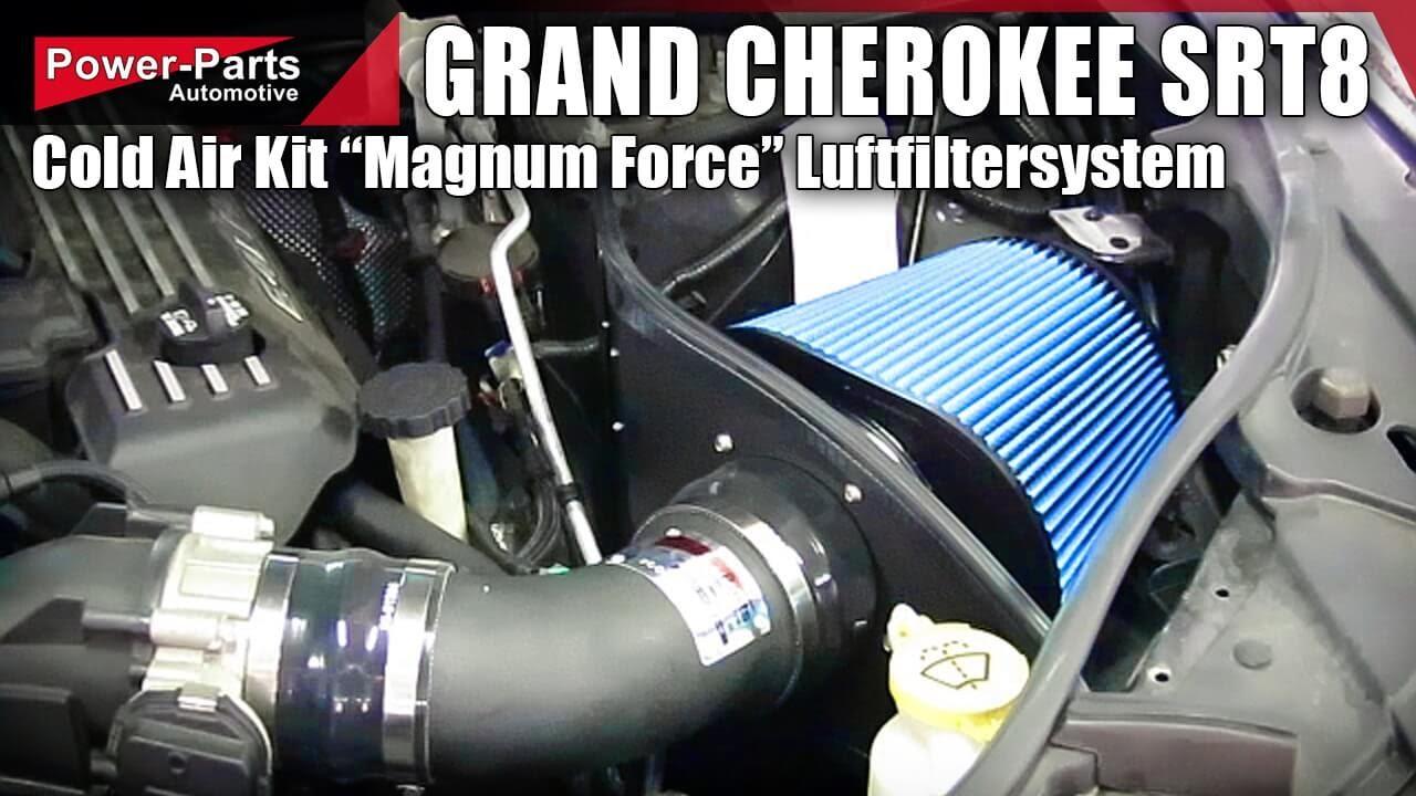 Cold Air Kit (Magnum Force) Im Jeep Grand Cherokee SRT   Power Parts  Automotive