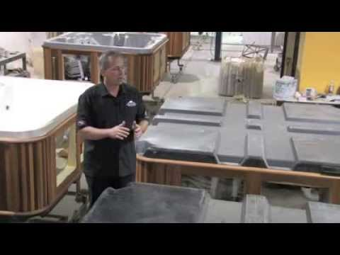 Hot Tub Base & Foundation Construction - The Forever Floor | Arctic ...