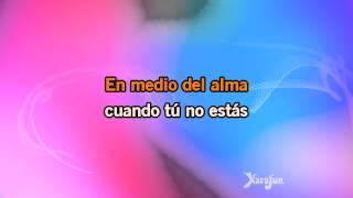 Karaoke Mi Tierra (live) - Gloria Estefan *