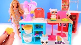 Куклы Лол Сюрприз Завтрак с Плей До и Утро у Стейси Lol мультик Видео для детей Morning Routine