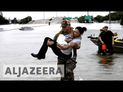 Many doubt US emergency agency will help Harvey victims
