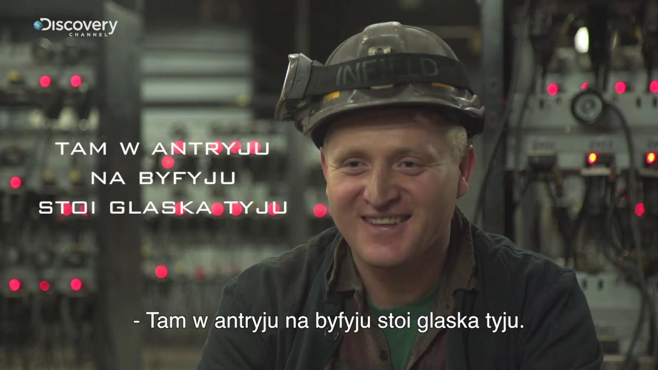 Górnicy PL | Śląsko godka: Antryj, byfyj i glaska tyju | Discovery Channel