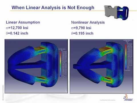 CATIA V5 Analysis - Part 1, Nonlinear Analysis