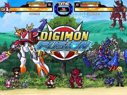 DIGIMON Fusion (Xros Wars) M.U.G.E.N Stage and Chars - Free PC Game DOWNLOAD