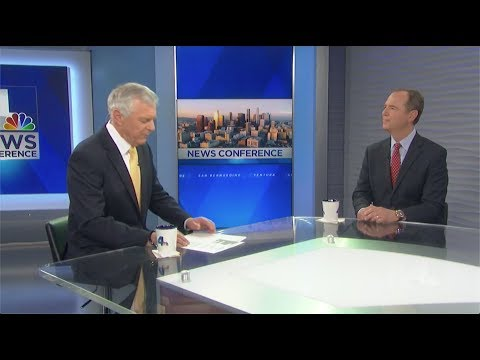 Rep. Schiff Discusses Mueller Report on NBC 4 News Conference