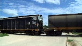 Tren cargado de NCA rumbo a General Deheza