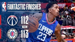 The Wizards and Clippers Go Back and Forth in Crunch Time   December 9, 2017