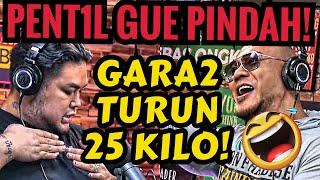 SUMPAH PENT1L NYA PINDAH GARA2 DIET🤣 -Ivan Gunawan -Deddy Corbuzier Podcast