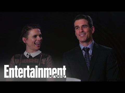 Hayley Atwell & Eddie Cahill Describe 'Conviction' Using 6 Random Words | Entertainment Weekly