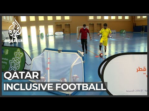 Qatar helping the disabled get access to playing football