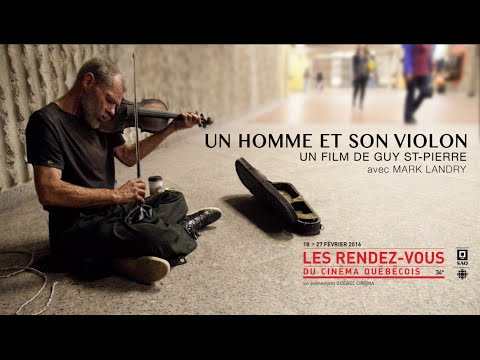 A man and his violin / Un homme et son violon