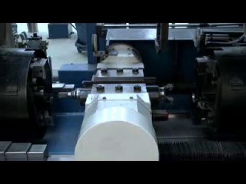 15 Tonne Twin Sliding Head Friction Welding Machine