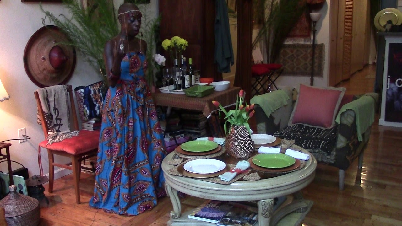 How To Set Up A Table For A Small Gathering Afrocentric