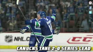 NHL 11 Stanley Cup Finals Sim