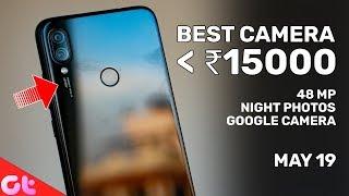 Top 5 BEST CAMERA PHONES Under 15000   May 2019   GT Hindi