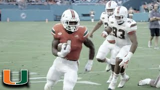 Miami Football Spring Game Highlights (2018)