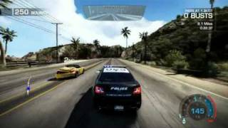 Need for Speed: Hot Pursuit - Limited Edition Gameplay PC : ESCAPE TO THE BEACH
