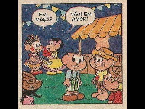 83ec47ae64010b A Turma - Festa junina | Quadrinhos Turma da Mônica