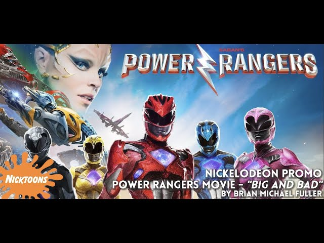 POWER RANGERS MOVIE PROMO!