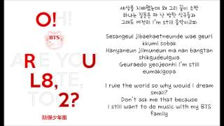 Gambar cover BTS (방탄소년단 Bangtan Boys) - If I Ruled The World [ENGLISH SUBS+HANGUL+ROMANIZATION LYRICS VIDEO + DL]