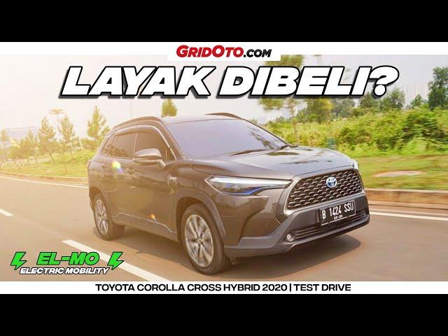 Tes Lengkap Corolla Cross Hybrid Yang Gak Cuma Irit | GridOto