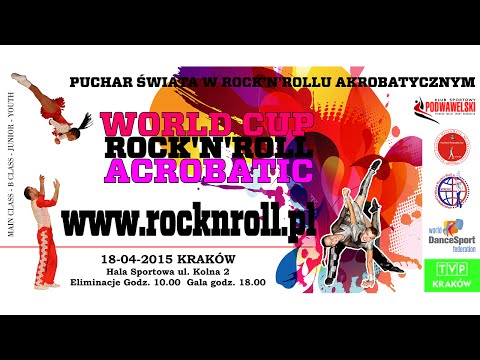 WORLD CUP ROCK'N'ROLL ACROBATIC CRACOW 2015