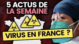 Le coronavirus qui inquiète la planète est en France, Mila, Macron en Israël.. 5 actus de la semaine