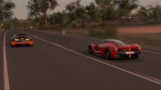 Forza Horizon 3 - FERRARI LAFERRARI vs BUGATTI VEYRON - CONVOI - FULL HD 1080p