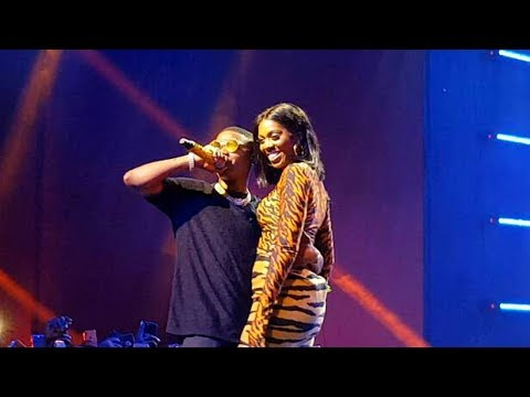 """Tiwa Savage and Wizkid bring Fever on stage at the 'Wizkid Exclusive Vip Experience"""""""