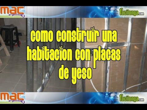 Placas de yeso durlock o knauf construir un tabique o - Imprimacion para paredes de yeso ...
