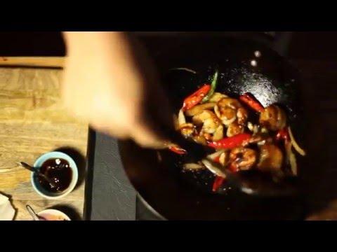 Busaba Presents Chilli Prawn Stir Fry HD