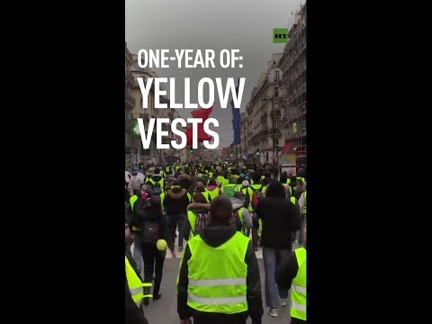 Yellow Vests: 1 year on