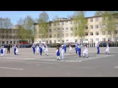 Выступление  на плацу в День Победы. ЗАТО Озёрный Тверская область