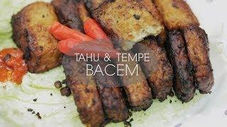 Tahu & Tempe Bacem (indonesian Marinated Tofu & Tempeh)