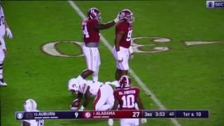Alabama vs Auburn 2016 Highlights (Iron Bowl)