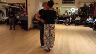 Tango Lesson: Forward and Contra Boleos