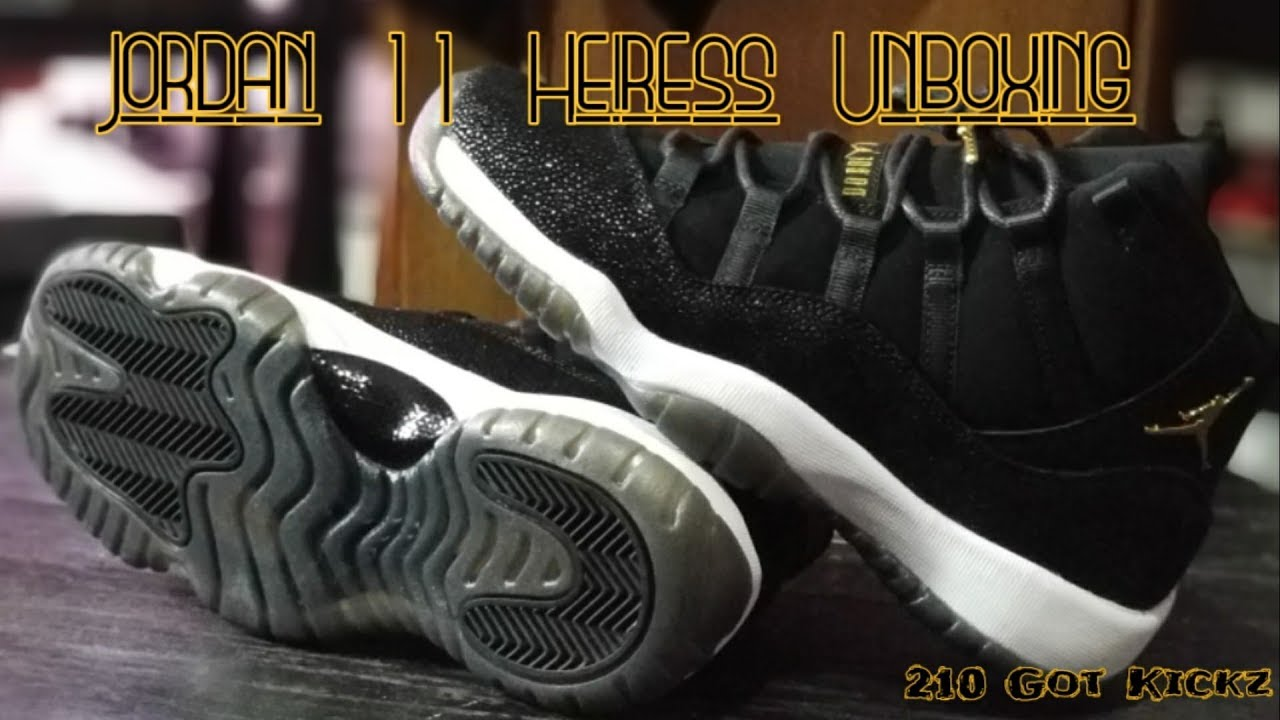 Jordan 11 Heiress Stingray Unboxing  Quick Review - YouTube b3238c92e