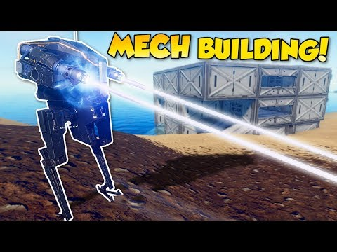 MECH & BASE BUILDING! - Pantropy Gameplay - Survival Mech Building Game!
