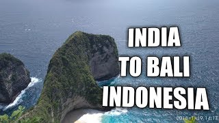 India to Bali - How to get visa for Bali? about Bali Currency (Hindi)