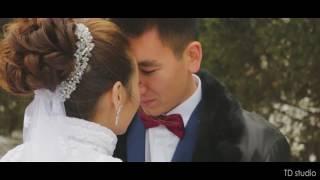 Мирас и Асель. Кусочек свадебной прогулки в Кокшетау 05.11.16