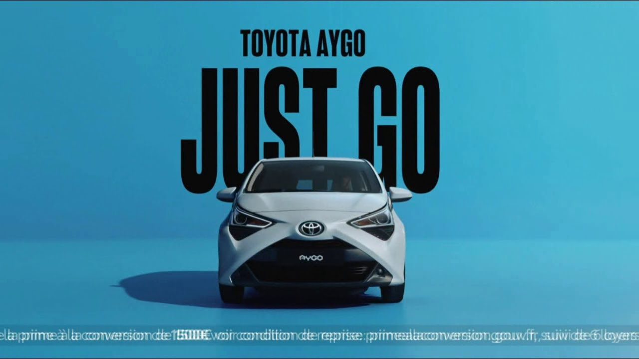 """Musique de la pub Toyota Aygo """"Just Go"""" """"restez connectés""""  2021"""