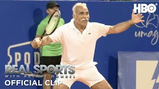 Mansour Bahrami the Court Jester | Real Sports w/ Bryant Gumbel | HBO
