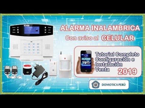 COMO CONFIGURAR ALARMA GSM PARA CASAS O NEGOCIOS - ALARMAS 247
